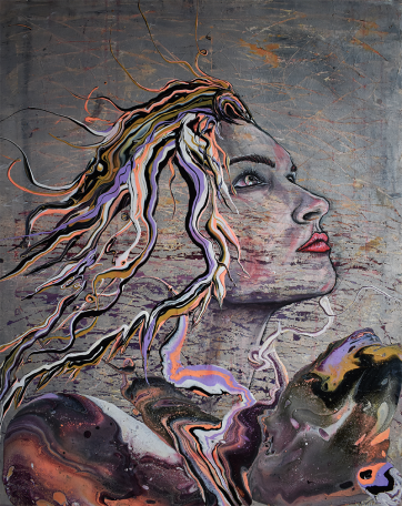 Dream - Acrylic on canvas (80 x 100 cm)